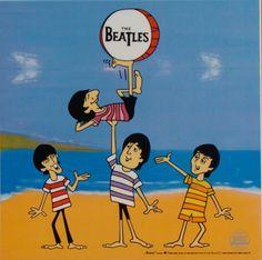 beatles cartoon