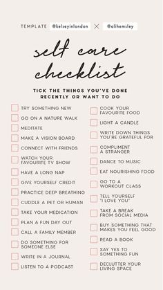 ways to spend time alone - New ways to spend time alone - New Ideas Tips for beautiful legs Practice Self Love with this Self Care Cheat Sheet! 15 Ways to Practice Self Love // Infographic Self Love Ideas, Self Care Tips Self Self Care Bullet Journal, Vie Motivation, Self Care Activities, Mental Health Activities, Couple Activities, Self Improvement Tips, Instagram Story Template, Self Care Routine, Found Out