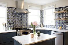 Beau Fireclay Tile Inspiration Gallery: It Had Them At Handpainted Feat.  Handpainted Lugo Tile In