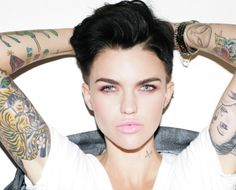Ruby Rose - #powervrouw - #OITNB - Divalifestyle