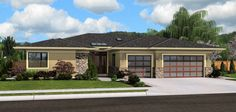 Mascord Plan 1245 -THE RIVERSIDE....the photos of the actual model is in Richland, WA