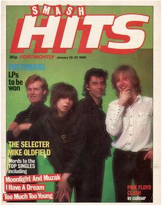 Smash Hits - The Pretenders January 1980 - I remember so many of these covers! Blues Music, Pop Music, Hit Songs, Love Songs, Music Down, Chrissie Hynde, The Pretenders, I Have A Dream, Music Magazines