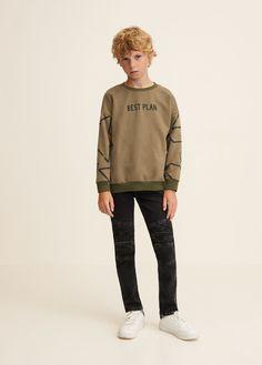 Boy Fashion 2018, Kids Fashion, 8 Year Old Boy, Old Boys, Black Denim, 6 Years, Boy Outfits, Bomber Jacket, Slim
