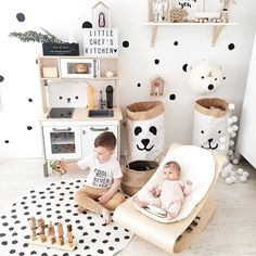 """148 Likes, 7 Comments - Modern Wooden Toys & Decor © (@happylittlefolks) on Instagram: """"I love this space by @irina_pushko Can you spot our wooden truck ? Have a great morning everyone!…"""""""
