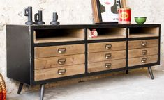 When it has to do with deciding on a sideboard all of it is based on the style and design which suits your home the very best. A sideboard may give yo. Sideboard Table, Black Sideboard, Small Sideboard, Mid Century Sideboard, Sideboard Furniture, Vintage Sideboard, Sideboard Ideas, Solid Wood Furniture, Contemporary Furniture