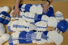 Nyt puikot heilumaan ja lisää Suomen juhlavuoden pipoja Pirkanmaan vastasyntyneille!