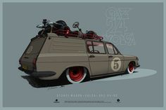 ArtStation - Stance wagon Volga 24-02, Andrey Tkachenko