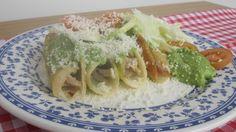 Flautas de pollo. Cucina messicana