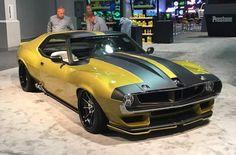 Ford Mustang Shelby Cobra, Mustang Cars, Custom Muscle Cars, Custom Cars, Us Cars, Sport Cars, Supercars, Amc Javelin, American Motors