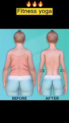 Body Weight Leg Workout, Full Body Gym Workout, Back Fat Workout, Slim Waist Workout, Butt Workout, Back Fat Exercises At Home, Arm Fat Exercises, Workout Exercises, Fitness Workouts