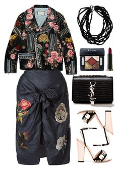 """""""Isabel Marant skirt"""" by thestyleartisan ❤ liked on Polyvore featuring moda, Gucci, Isabel Marant, Rochas, Yves Saint Laurent, Urban Decay, Christian Dior, women's clothing, women y female"""
