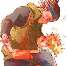 Naruto and Iruka