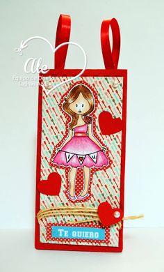 Reto 28 Latinas Arts and Crafts, Bolsita para San Valentin