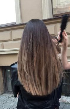 Straight Hairstyles, Hairstyles Haircuts, Down Hairstyles, Pretty Hairstyles, Brunette Hair, Blonde Hair, Balayage Hair, Bayalage, Straight Hair Highlights