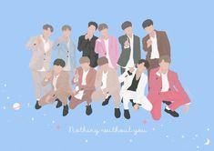 cr.drawonging Ha Sungwoon, Korean Bands, Second Season, Seong, Post Card, Btob, Bts Bangtan Boy, Jinyoung, Vector Art