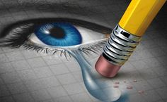 Depression Relief and conquering mental adversity with a pencil eraser removing a tear drop from a close up of a human face and eye as a concept of emotional support and therapy. by Lightspring, via ShutterStock What Is A Soul, Diabetes, Natural Remedies For Depression, Quotes About Hard Times, Highly Sensitive Person, Soul Healing, Anxiety In Children, Les Sentiments, Social Anxiety