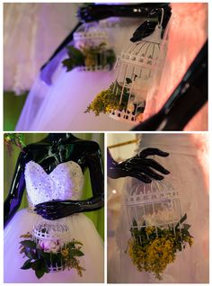 installation on wedding exibition