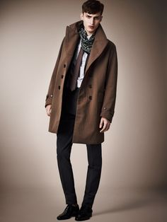 If I could just wear head-to-toe Burberry all the time, I would consider myself in heaven.