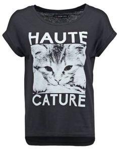 Even&odd Camiseta Basica Black camisetas y blusas Even&Odd camiseta black básica Noe.Moda