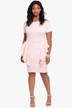 Plus Size Pandora Ruffle Dress | Fashion To Figure