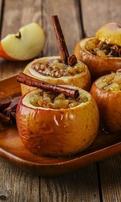 The photographs may not be the best, but this recipe for baked apples is truly yummy. I promise!