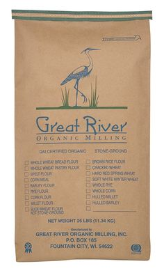 Great River Organic Milling Lily White Bread, 25 Pound >>> See this awesome image