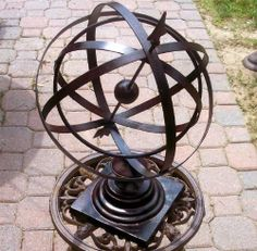 "Large 24"" Iron Arrow Armillary Sphere:Amazon:Home & Kitchen"