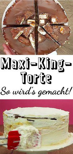 Diese #Torte werden alle lieben! Denn Kinder Maxi King schmeckt nicht nur als Riegel einfach fantastisch. #schokolade #kinder
