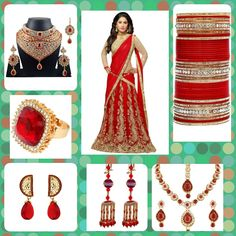 Upload your dress and get matching jewellery. Visit www.shibong.com