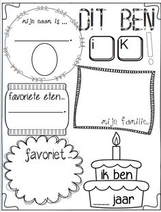 Fräulein Lien: Das bin ich - Back To School 1st Day Of School, Back To School, All About Me Activities, Bible Mapping, Leader In Me, 7 Habits, Activity Sheets, About Me Blog, Classroom