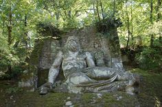 File:Neptune in the park of monsters, close to Bomarzo.jpg ...