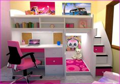bunk bed desks - Google Search