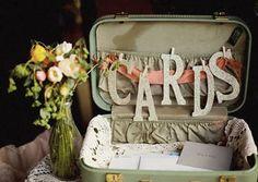 valise mariage rustique