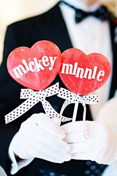 Style Me Pretty.mickey and minnie wedding photos