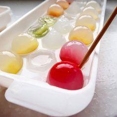 10_e Cute Desserts, Asian Desserts, Amazing Food Art, Zero Calorie Foods, Snack Recipes, Snacks, Japanese Sweets, Dessert Drinks, Bubble Tea