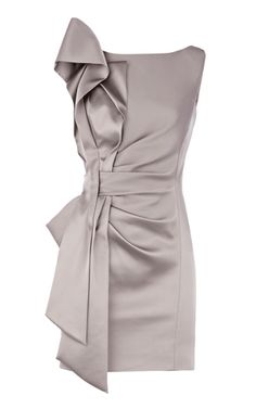 dress clothes gray bow