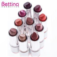 """""""Chianti"""" y """"Nude"""" son los #nuevos colores que esperan por ti... #Bettina Creamy #Lipstick. #newcolors #makeup"""