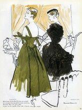 Christian Dior & Balenciaga (Couture) 1953 Bernard Blossac