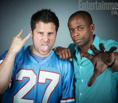 Psych stars James Roday and Dule Hill at EW Comic Con Photo Booth Shawn And Gus, James Roday, Nick Fury, Entertainment Weekly, Favorite Tv Shows, Favorite Things, Best Shows Ever, Little Sisters, Cute Boys