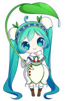 FREE Snow Miku 2015 Pagedoll by rimuu