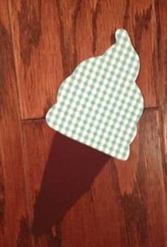 Ice Cream Cone No Sew Iron On Applique You Choose by EllaBaDellas