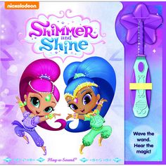 Twin genies-in-training, Shimmer and Shine, are happy to grant three wishes a day for their human friend Leah. Even when they don't get the wishes exactly right, the trio always figures out a way to make the mistakes turn out great!<br><br>The Nickelodeon Shimmer and Shine Magic Wand Book Features:<br><ul><li>Readers can wave the magic wand to trigger 3 unique sparkly musical wand effects.</li><br><li>Readers can touch objects on the page to trigger other exciting sound effects (4-5 per…