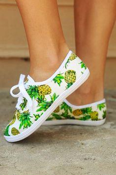 Summertime Sweetness Shoes: White/Multi