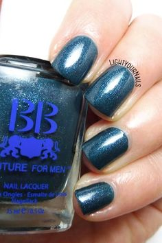 Foto swatch smalto BB Couture For Men Playboy nail polish swatch #lightyournails #bbcouture #nails #unghie http://www.lightyournails.com/2018/01/bb-couture-for-men-playboy.html
