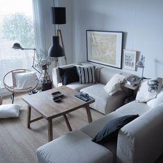 塩系インテリア/ソファー/ポスター/無印良品/IKEA/部屋全体…などのインテリア実例 - 2015-07-14 00:04:04 | RoomClip(ルームクリップ)