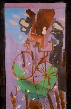 Georges Braque (French, 1882-1963) - The Bicycle, 1961
