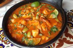 Mariscos en Salsa (Seafood in Salsa)