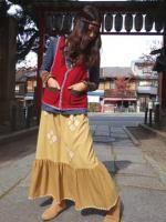 レトロンフレアスカート【hammock】