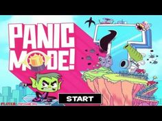 Teen Titans Go! Panic Mode! Cartoon Network Walkthrough
