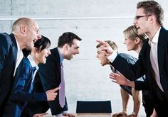 On how blame games are still very prevalent in offices of all kinds.